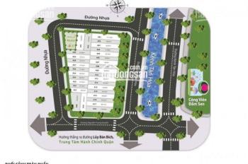 Bán đất đường Kênh Tân Hóa, đối diện Đầm Sen, quận Tân Phú, giá 25tr/m2, DT 80m2, SHR, 0328672237