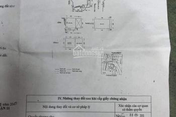 Cần tiền làm ăn bán nhanh căn nhà 3 lầu hẻm 3m 161B/81/28 đường Lạc Long Quân, P3, Q11 = 7 tỷ