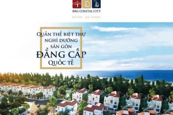 Bán biệt thự nghỉ dưỡng sân golf BRG Coastal City Đồ Sơn, giá chỉ từ 7,2 tỷ. Hotline: 0852.855.668