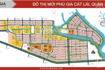 Bán 5 lô đất 110m2 khu Cát Lái, giá từ 35 - 40tr/m2 đường Nguyễn Thị Định, Q2, SR 0888.4940.21
