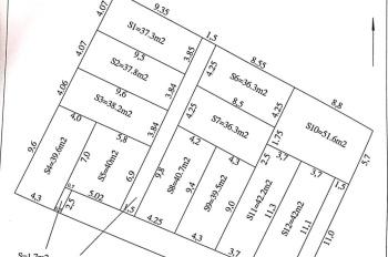 Bán 12 căn nhà tại Cát Bi 3, Tràng Cát, Hải An, HP
