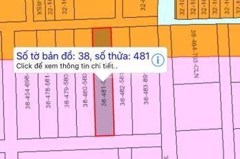 Do không có nhu cầu sử dụng chủ gửi bán lô đất 10m, mặt tiền chợ Biên Hùng - Phước Thiền