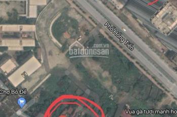 Bán đất mặt tiền phố Lâm Du, P. Bồ Đề, DT 120m2 đất vuông vắn, mặt tiền 4.9m. Xe ô tô đi lại được