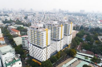 Officetel 40 m2, Cao Thắng, Q 10 giá 11 triệu/tháng. Rẻ nhất khu vực