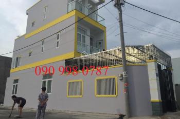 Bán nhà phố 1 trệt 3 lầu, hẻm ô tô đường Lò Lu, Q9, full NT, DT 90m2, giá tốt 4.9 tỷ, LH 0909980787