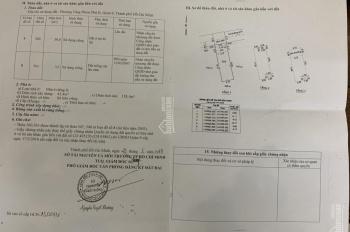 Cần bán căn nhà 1 trệt 2 lầu, đường 8, Lã Xuân Oai phường Phước Long B, Q9, diện tích 4.12x13m
