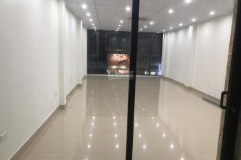 Hot, cho thuê nhà mặt phố Phan Kế Bính, DT: 65m2x5T, MT 5m, giá thuê 45 tr/th. LH: 0903215466