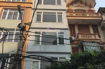 Cho thuê nhà mặt phố Nguyễn Xiển, 64m2 x 6 tầng, 2 mặt tiền, có thang máy