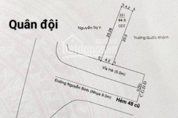 Mặt tiền Nguyễn Bình Đại học Bình Dương nhà cấp 4 mới đẹp kinh doanh tốt, bán nhanh trong tháng