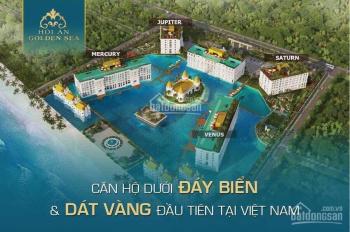 Hội An Golden Sea - Căn hộ dát vàng độc đáo nhất lần đầu tiên có mặt tại Việt Nam. LH: 0902 787 709