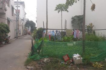 Bán đất 2 mặt tiền Thạnh Lộc, Quận 12, DT 5.55m*12.13m, SHR bao sang tên, thổ cư 100%