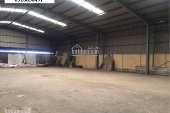 Cho thuê nhà kho, xưởng SX tại KCN Nguyên Khê, Đông Anh DT 2560m2, giá chỉ 40nghìn/m2