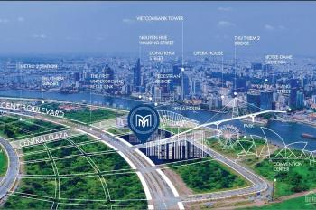 Bán căn hộ Metropole Thủ Thiêm, 2PN diện tích 78m2, lầu 12 view sông & Bitexco 9.5 tỷ. 0972947323