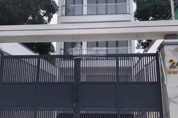 Nhà 1 trệt 3 lầu, DT 176.9m2, mặt tiền đường Lê Văn Thịnh, Bình Trưng Tây, Q2