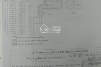 Bán nhà hẻm Vũ Tùng, Phường 1, Bình Thạnh giá tốt