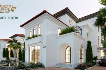Chốn an cư nghỉ dưỡng ngay trong lòng thành phố, biệt thự vườn Quận 9 CK 18%, 0936256566