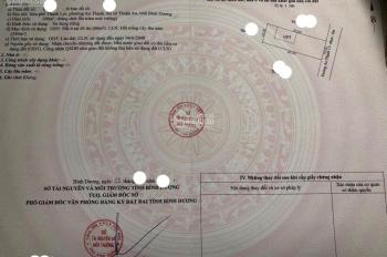 Đất Lái Thiêu ngay An Thạnh trung tâm TX Thuận An, đường nhựa 8m, DT 10*30m/3,7 tỷ