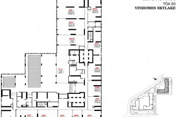 Cho thuê mặt sàn làm văn phòng tại Vinhomes Skylake Phạm Hùng, sát Keangnam, tiện ích 5*