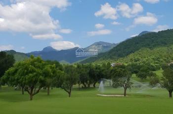 Bán đất biệt thự sân golf Tam Đảo cực đẹp, sổ đỏ lâu dài