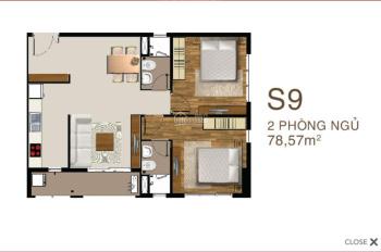Chính chủ cần bán căn hộ Sài Gòn Mia, căn góc đẹp nhất S9, tầng 10 trở lên, view mặt tiền đường 9A