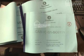 Cho thuê shophouse chân đế chung cư G1, G2, G3 Vinhomes Green Bay Mễ Trì. Ban QL dự án: 0914369817
