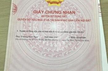 Bán nhà hẻm xe hơi đường Nguyễn Phúc Chu, Phường 15, Quận Tân Bình