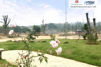 Bán đất mặt Quốc lộ 21A, Hòa Lạc, giá chỉ từ 10 triệu/m2