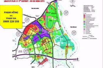 Bán đất mặt tiền đường Hoàng Hữu Nam, phường Tân Phú, Quận 9, 130 tỷ/3500m2