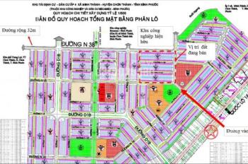 Bán đất TĐC khu công nghiệp Chơn Thành, Bình Phước