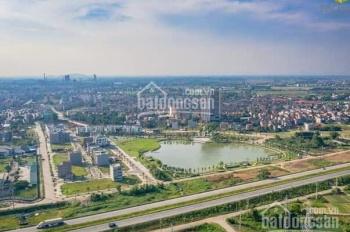 Bán lô góc 2 MT tại KĐT Bách Việt - 122.3m2 đối diện Quảng trường trung tâm kinh doanh cực thuận