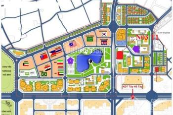 Chung cư Ngoại Giao Đoàn, 3 phòng ngủ tòa N03-T1, giá từ 2.7 tỷ
