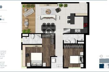Định cư ở nước ngoài cần chuyển nhượng căn hộ Sky 89 - 89m2. Căn góc 2PN, tầng Long Môn 0924988668