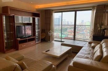 Cho thuê căn hộ Sky City tại 88 Láng Hạ, diện tích rộng 150m2, 3 PN giá chỉ 18tr/th, đã đủ đồ