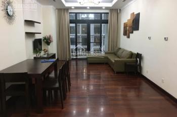 Cho thuê căn hộ Royal City, tòa R4, căn góc, 132m2, 3 phòng ngủ, đủ đồ, 25 triệu/tháng. 0902226082