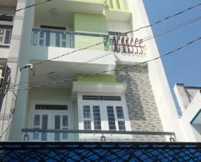 Cho thuê nhà hẻm 595 CMT8, quận 10, diện tích: 4x13m, kết cấu 2 lầu, gồm: 4PN, 1 bếp, 2 WC, có ST