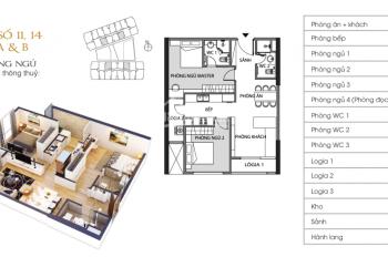 Cần chuyển nhượng căn hộ 02PN, tầng 15, tòa A Green Pearl 378 Minh Khai: 0916121215
