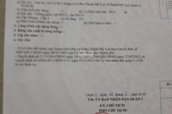 Tôi chính chủ cần bán lại căn hộ 2PN - 2WC - 65m2, CC Thạnh Mỹ Lợi, Q2, giá (thương lượng)