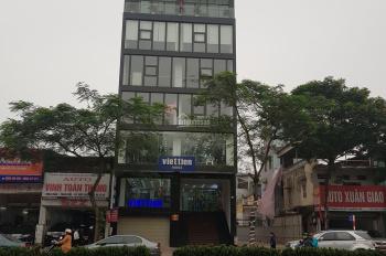Cho thuê nhà mặt phố Trần Duy Hưng - Cầu Giấy. DT 145m2 x 3 tầng, MT 7.5m, LH 0984213186