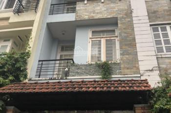Cho thuê nhà riêng đường 34A, P. An Phú: 4x20m, trệt, 3 lầu, 4PN, giá 25 tr/th. Tín 0983960579