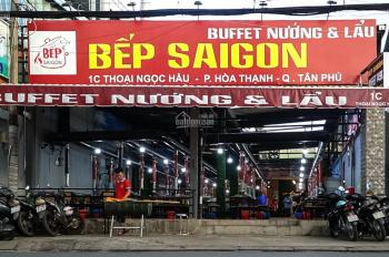Sang quán ăn buffet mặt tiền Thoại Ngọc Hầu, 10x18m