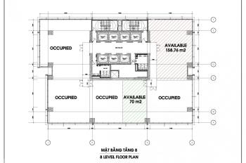 Cho thuê văn phòng hạng A Quận 1 - AB Tower, diện tích 90m2 - 160m2 - 300m2. Giá thuê 900 nghìn/th