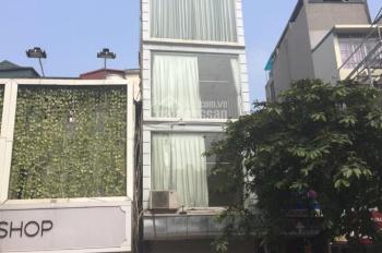 Cho thuê nhà mặt phố Trần Nhân Tông, riêng biệt, DT: 30m2, 4 tầng, MT: 4m, 0988844074