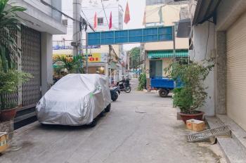 Bán nhà 2MT trước sau đường Tân Hương, P. Tân Quý. DT: 4x14m nở hậu 4,2m, đúc 2 tấm BTCT mới đẹp
