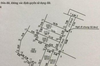 Bán đất nhỏ nhắn, vuông vắn, xinh xắn Yên Nghĩa tổ 5, ô tô cách 20m giá chỉ 972tr. LH 0939965555