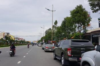 Nhà góc 2 mặt tiền Quốc lộ 1A, DT: 5.2mx62m, giá chỉ 12 tỷ. LH: 091.454.1133