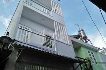 Bán nhà hẻm xe hơi quận Bình Tân, nhà mới xây kiên cố vào ở ngay, 3 tầng, LH: 0932114799