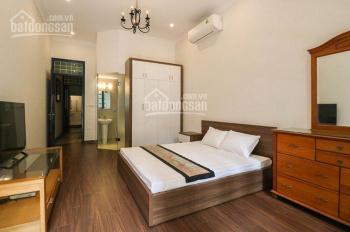 Cho thuê nhà riêng Đội Cấn, DT: 73m2x3T, MT: 4,5m, full nội thất giá thuê 24tr/th, 0903215466