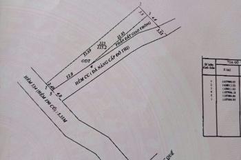 Bán nền góc 2 MT trục chính hẻm 534 (Hẻm 190 cũ) đường 30/4 đối diện trung tâm ngoại ngữ ĐHCT