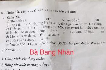 Chính chủ bán nhà kiệt ô tô Bà Bang Nhãn, giá rẻ nhất thị trường