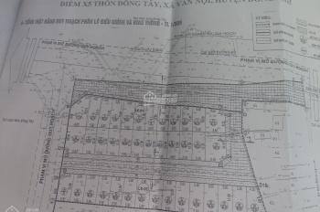 Bán 3 lô đấu giá tại thôn  Đông Tây xã Vân Nội. Giá rẻ nhất thị trường. LH:0978930661
